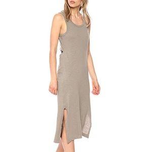 Splendid Slub Draped Cut Out Dress